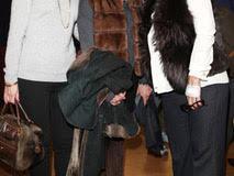 Marcella Logli, Giulia Pessani and Maria Cristina Modenesi at the Opening Riscatti Exhibition in Milan, Italy on the 02nd February 2017 Photo: Canio Romaniello/SilverHub + 39 02 43 99 8577  sales@silverhubmedia.it
