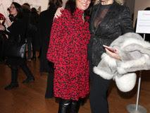 Federica Balestrieri and Paola Neri at the Opening Riscatti Exhibition in Milan, Italy on the 02nd February 2017 Photo: Canio Romaniello/SilverHub + 39 02 43 99 8577  sales@silverhubmedia.it