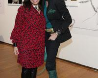 Federica Balestrieri and Laura Morino Teso at the Opening Riscatti Exhibition in Milan, Italy on the 02nd February 2017 Photo: Canio Romaniello/SilverHub + 39 02 43 99 8577  sales@silverhubmedia.it